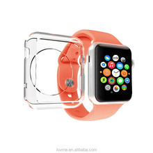 Transparent Crystal Clear TPU Gel Case Cover For Apple Watch