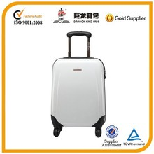2015 newly produced customized ultra silent 4 wheeled light cheap trolley luggage