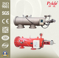 Industrial water and waste water treatment process filter