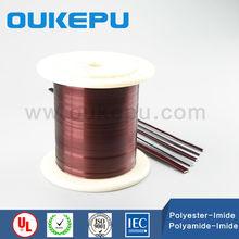 CE wire trade assureance supplier OUKEPU transformer enamelled aluminum wire