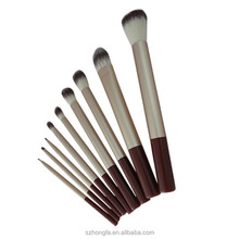 Best seller 9 pieces make up brush set one dollor shop