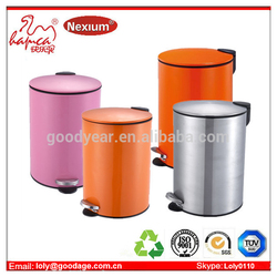 Foot Pedal Structure and PP Material pedal dustbin Manufacture With BSCI & Wal-Mart Factory Report From China Goodyear