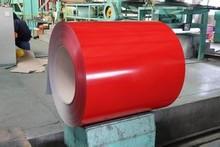 Planchas Paneles de Acero Prepintado de Color Rojo Como Techo Corrugado para Construcción