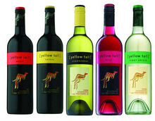 Yellow Tail wines from Australia