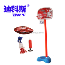 Adjust Height Water Filled Basketball Stand with Mini Basketball Rim