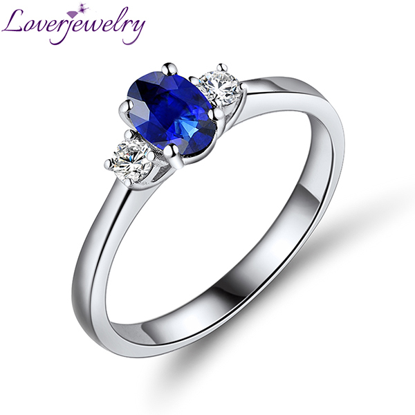 Natural Blue Sapphire Rings For Sale