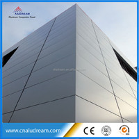anodized curtain wall system alucobond panel price
