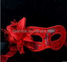 Christmas party mask for celebrate plastic party mask