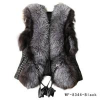 Женская одежда из меха Fancyqube ! Faux W8344B WF-8344B\WCF