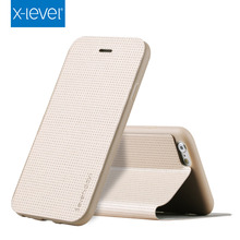 X- Level Hot Selling Pu Leather 2015 wholesale cell phone case for iphone 6S