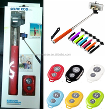 Handheld Monopod Stick+Phone Holder+Bluetooth Wireless Remote selfie stick Shutter for Smart phone Digital Camera