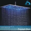 降雨シャワーヘッドを導いた、 異なる水温で変化する色
