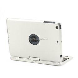 New Arrivial 360 Rotating AU Sprayed Metal Sense Portable Bluetooth Keyboard