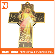hanging wooden crosses, new fashion design religious wood home decor craft