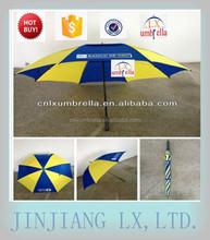 New windproof golf umbrella, golf umbrella, double layer golf umbrella