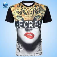 2015 Bigworld Wholesale custom printing t shirt/ Fashion men stylish sublimation t shirt/Sublimation t shirt with manufacture