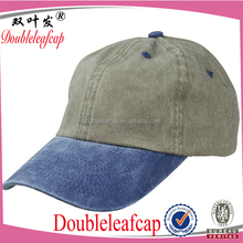 Mens Pigment Dyed Washed Cotton snapback Cap And Hat