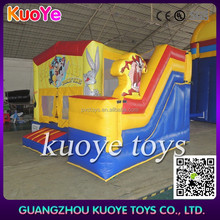 looney tunes inflatable bouncy castle slide