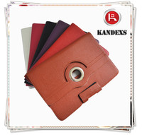 Adjust Strap Business Style leather case keyboard tablet flip cover case for tablet pc