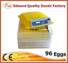 Automático incubadora del pollo de alta quanlity / Mini incubadora de huevos de codorniz alta tasa de eclosión