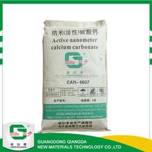 Asphalt powder filler , 60 - 80 nm asphalt nanometer ground calcium carbonate price