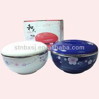 Stainless Steel Bowl Plastic Lid