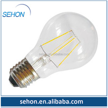 Fancy edison light bulbs A60 4W vintage full glass cover LED new product filament bulb dimmable/ led bulb/led vintage lights