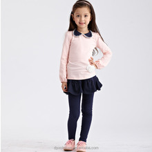 boutique kids long sleeve cotton dress, fashion brand designs Long sleeve blouses 2015, wholesale long sleeve girls frocks
