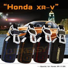 Second Generation car key case for honda xr-v 2015 wallet holder remote key cover Second Generation