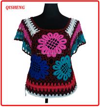 2015 fashion fake wool crochet pattern shawl