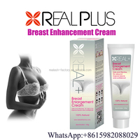 Real Plus breast up massage gel breast enhancement cream Made in China