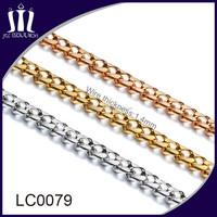 Custom made various kinds handbag chain handle chain