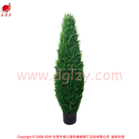 National artificial boxwood tree grass tower tree plant in pot