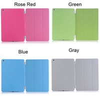 For iPad Air Free Shipping protective shookproof With Many colors PC+Pu tablet universal phone case