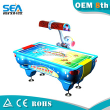Hot and popular in the overseas market air hockey table game 2 players fighting game