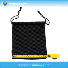 wholesale good quality recycled small nylon mesh drawstring bag