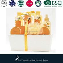 Rigid box Bath gift set for body care
