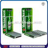 TSD-A083 Custom retail shop countertop acrylic beer promotion display stand/promotion display pallet/advertising display shelf