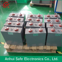 500uF 3000VDC high voltage pulse oil filled capacitor