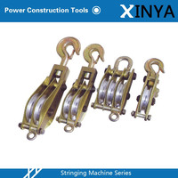 Single and Double Wheel Sheave Pulley Block