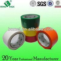 Colour non residue adhesive tape