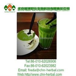 Natural herbal matcha green tea powder benefits