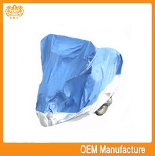 Double colour 190t silver coated heat resistant silicone handle cover motorcycle at factory price