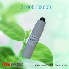 laser cartridge 3100D 3200D empty toner cartridge for ricoh aficio parts