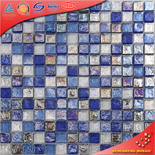 Azulejo para ba o azul - Azulejos para mosaicos ...