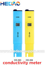High accuracy 3 in 1 digital water quality tester water conductivity meter
