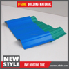 China products pvc resin roofing materials name
