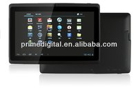 2013 new product 7 inch android 4.0 tablet pc Q88 DDR III 512M/4GB A13