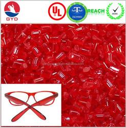 eye glasses optical frames TR90 memory plastic, PA12 pellets plastic manufacturer