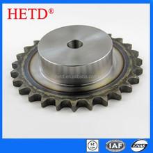 HETD non-standard steel simplex sprocket with one side